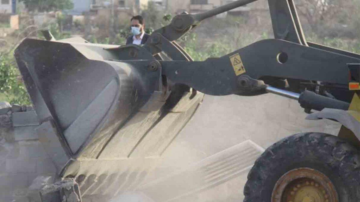 ۳۵۰ ساخت و ساز غیر مجاز در اراضی شهرستان چهارباغ تخریب شد