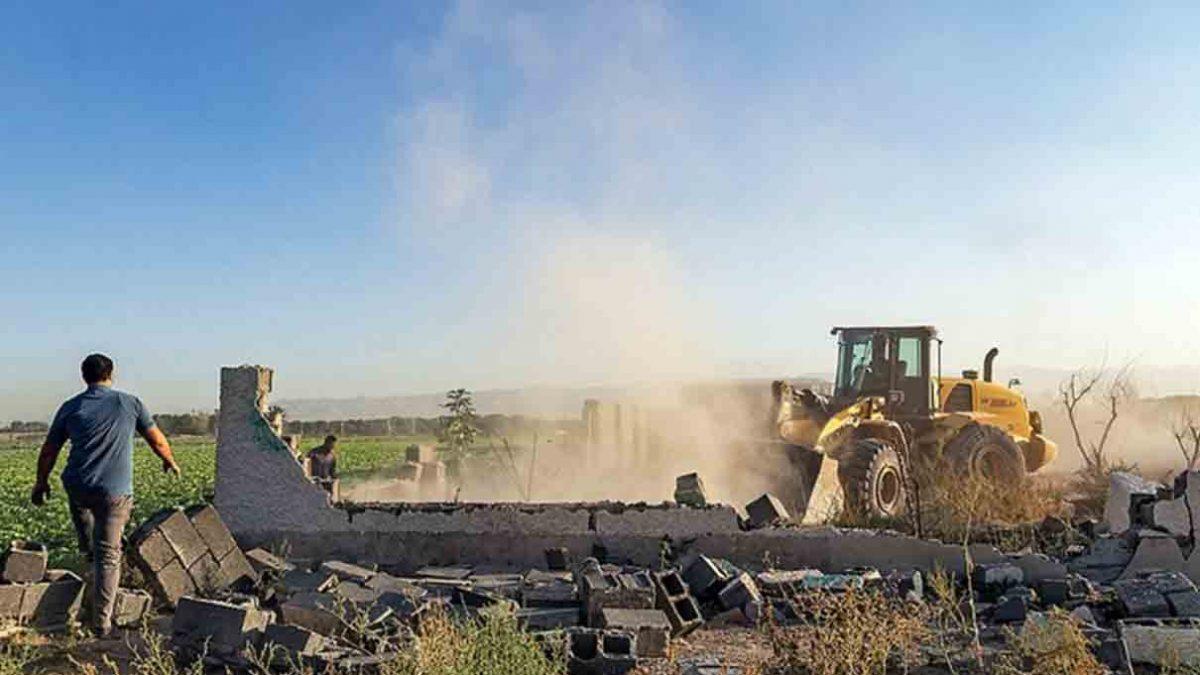 رفع تصرف بیش از ۴ هزار متر از اراضی کشاورزی ابهر به ارزش بیش از ۲۳ میلیارد